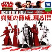 日本 STAR WARS 星球大戰 白兵 人物擺設 ( 5款裝 )
