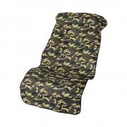 日本 AMON 汽車用內迷彩單座工作防污墊寵物墊椅套