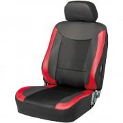 日本 BONFORM 汽車用紅黑全包坐墊坐椅套