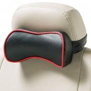 日本 BONFORM 汽車用皮質立體成型頸枕頭枕
