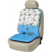 日本 BONFORM 汽車用MINION 小黃人 汽車用超舒適坐墊座椅套