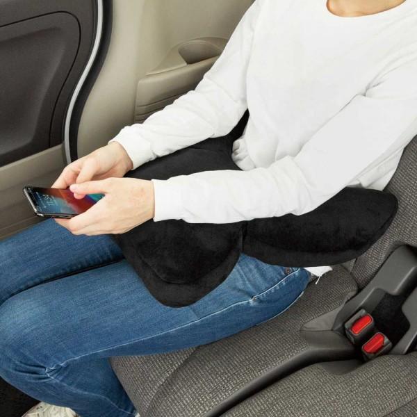 日本 BONFORM 汽車用頭枕頸枕睡枕休息用枕頭車中泊