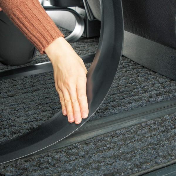 日本 BONFORM 汽車用 MPV 座椅路軌保護條膠條防污 ( 2條裝 )