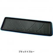 日本 BONFORM 汽車用皮質藍邊長型中排 / 尾排用地膠