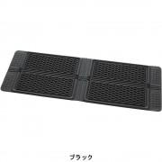 日本 BONFORM 汽車用立體厚身防水防污地膠地毯後座乘客位中排