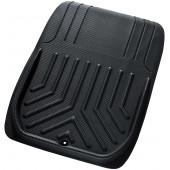 日本 BONFORM 汽車用車內碳纖可剪裁防水防污前座地膠地毯