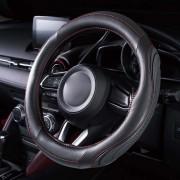 日本 BONFORM 汽車用 3D 立體 紅線 軚盤套 軚環套 抗菌 除臭