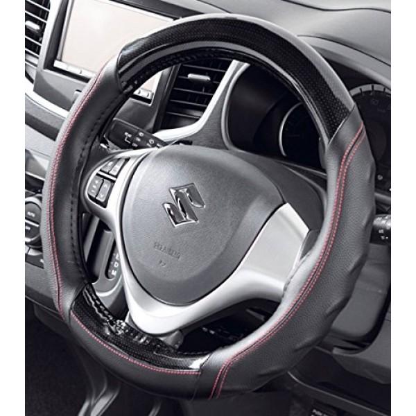 日本 BONFORM 汽車用碳纖防滑紅線軚環套軚盤套