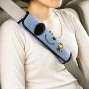 日本 BONFORM  汽車用SNOOPY 安全帶套