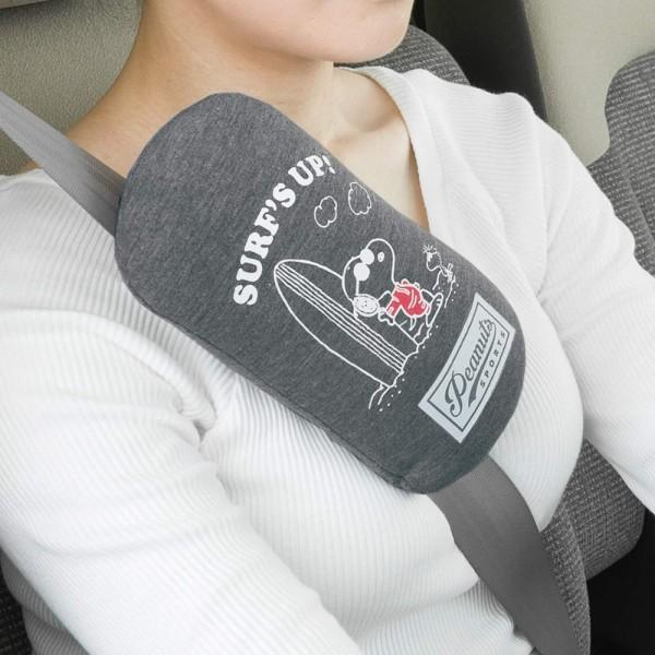 日本 BONFORM 汽車用 SNOOPY 史露比闊身安全帶套