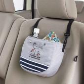 日本 BONFORM 汽車用SNOOPY 座椅椅背置物袋收納袋