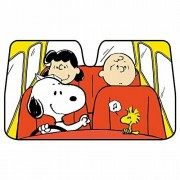 日本 BONFORM SNOOPY 史露比 汽車用擋風玻璃太陽擋隔熱