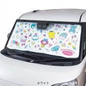 日本 BONFORM 汽車用擋風玻璃太陽擋遮光隔熱 HELLO KITTY 布甸狗 MY MELODY LITTLE TWIN STARS 玉桂狗
