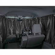 日本 BONFORM 車中泊 汽車用360全車窗簾 SUV 私家車 ( 黑色 )
