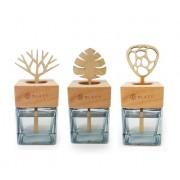 韓國製 CAREX 天然木方型香水香座香薰擺設
