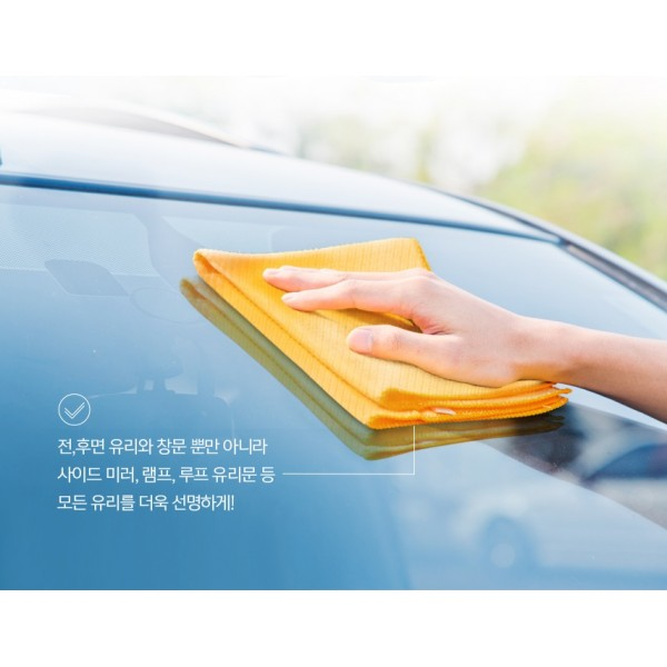 韓國 CAREX 汽車用玻璃超纖維毛巾