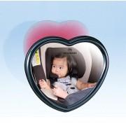 日本 CARMATE 汽車用車內心型盲點鏡