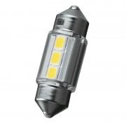 日本製 CARMATE 12V 汽車用車內專用LED房燈白光 T10x31 31mm T8X29 子彈頭 5000K