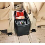 日本 CARAMTE 汽車用特大皮質收納袋雜物袋中座箱