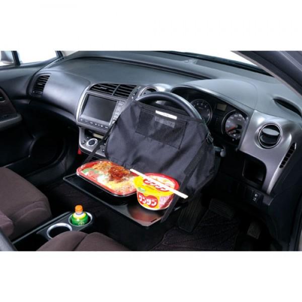 日本 CARMATE 汽車用軚環雙功能餐桌