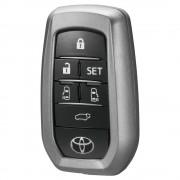 日本 CARMATE 豐田 TOYOTA ALPHARD VELLFIRE 30系專用車匙套車匙貼智能鑰碳纖紋匙蓋