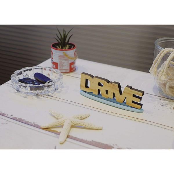 日本 CARMATE 汽車用DRIVE木牌香水香片座擺設