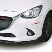 日本製 CARMATE 汽車用倒後鏡倒鏡專用紅色防撞貼