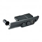 日本 CARMATE 豐田 HIACE 200系專用一拖二點煙器USB充電器