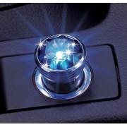 日本 CARMATE 汽車用點煙器藍寶石裝飾燈LED氣氛燈