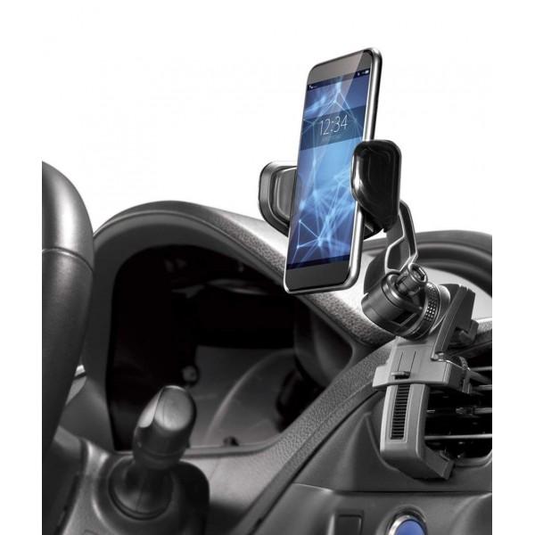 日本 CARMATE 汽車用多角度出風口手機架電話座