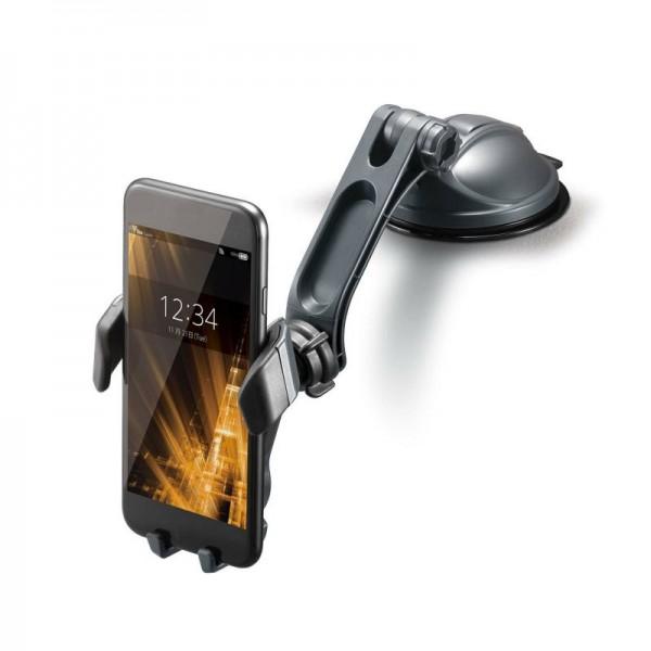 日本 CARMATE 汽車用錶台V型地深吸力電話座