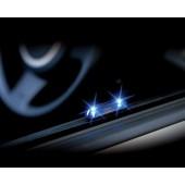 日本製 CARMATE 汽車用藍光LED太陽能防盜燈裝飾燈警示燈