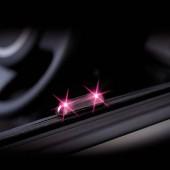 日本 CARMATE 汽車用紫光LED太陽能防盜燈裝飾燈
