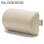 日本 CLAZZIO 汽車用 皮質 頸枕頭枕 - 杏色 米色