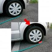 日本 CRETOM 洗車用防止水喉攝入輪胎座防攝架 ( 2個裝 )