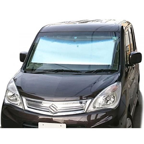 日本 CRETOM 汽車用捲簾式擋風玻璃隔熱擋太陽擋遮陽擋