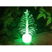 迷你 汽車用家用辦公室用 USB 聖誕樹 擺設 LED 發光 多色轉換