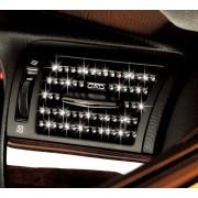 日本 DAD 汽車用車內出風口冷氣風口閃石裝飾貼電鍍貼 SWAROVSKI 施華洛世奇