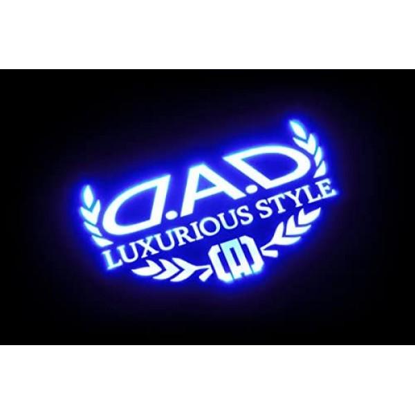 日本 DAD 汽車用車尾玻璃LED藍光裝飾燈尾燈警示燈