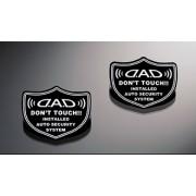 日本 DAD 汽車用車內玻璃專用防盜貼紙