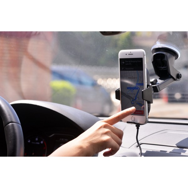 美國 勁量 ENERGIZER 汽車用自動式開關無線充電手機座