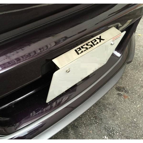 日本 ESSEX 汽車用不鏽鋼車牌架 ( 可調角度 )