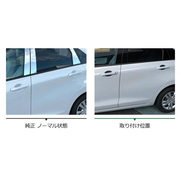 日本 本田 HONDA JAZZ FIT GR 3 混能 碳纖紋車門手抽防花貼保護貼 ( 4件裝 )