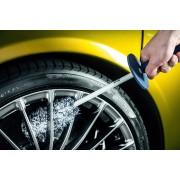 瑞典 GYEON QUARTZ Q²M WHEEL BRUSH 洗車用洗鈴擦胎鈴清潔擦 (大尺寸 )