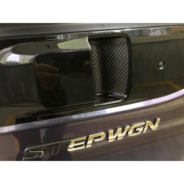 日本 HASEPRO 本田 HONDA STEPWGN RP1 RP3 SPADA 尾箱尾門 WAKU WAKU 手抽碳纖紋保護貼防花貼裝飾貼紙