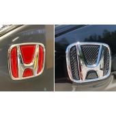 日本 本田 HONDA STEPWGN RP1 RP3 SPADA 車尾章車章碳纖紋貼 ( 紅 / 黑可選 )
