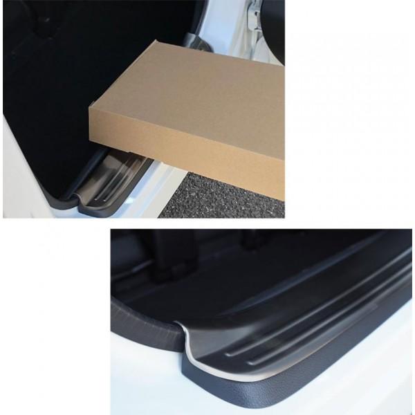 日本 本田 HONDA STEPWGN SPADA RP1 RP3 汽車用尾門雪櫃門不鏽鋼踏板防護板 -- 黑色