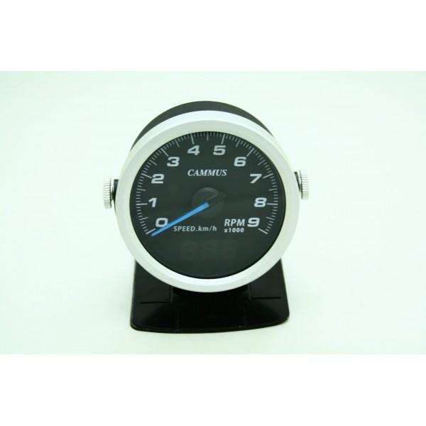 HUD OBD2 汽車用車用豪華賽車表轉數表速度表顯示器