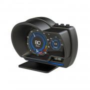 HUD A500 OBD2 汽車用抬頭顯示器車速轉數水溫電壓