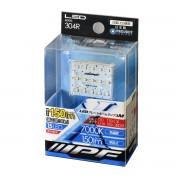 日本製 IPF 12V 汽車用 LED 7000K 白光 房燈 車內燈 尾箱燈 ( M )
